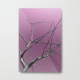 Reaching Violet Metal Print