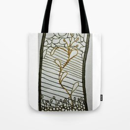 Budding Plant Tote Bag