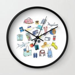 Traveling set Wall Clock