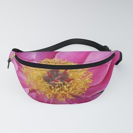Lovely Pink Peony  Fanny Pack