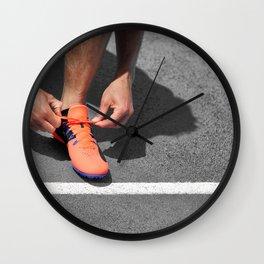 Get up and Run Wall Clock