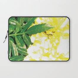Pretty yellow flowers Laptop Sleeve