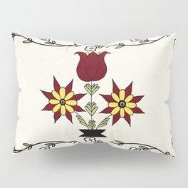Dutch Country Floral Pillow Sham
