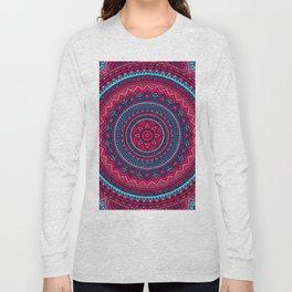Hippie mandala 46 Long Sleeve T-shirt