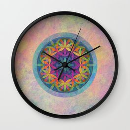 The Flower of Life variation Wall Clock