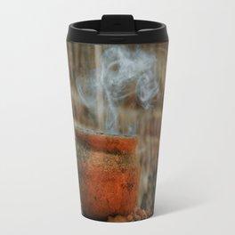 Smoke from a pot Travel Mug