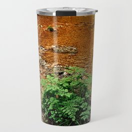 Little stream in autumn colors | landscape photography Travel Mug
