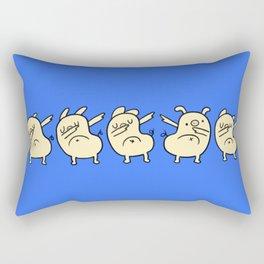Dab Pigs Rectangular Pillow