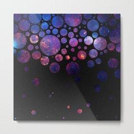 Space Bubbles Metal Print