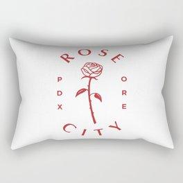 Rose ,Portland,Oregon,city Rectangular Pillow