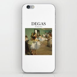 Degas - The Dance Class iPhone Skin