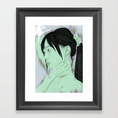 Echo Location Framed Art Print