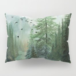 Mountain Morning 2 Pillow Sham