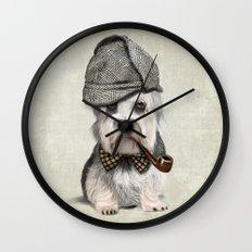 Sir Dandie Dinmont Terrier Wall Clock
