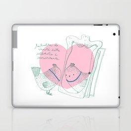Lark mirror. Laptop & iPad Skin