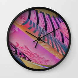 Daily Design 63 - Summer Plans Wall Clock