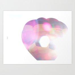 Shiny Ballon Art Print