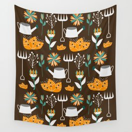 Gardening day Wall Tapestry