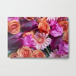 flower mix Metal Print