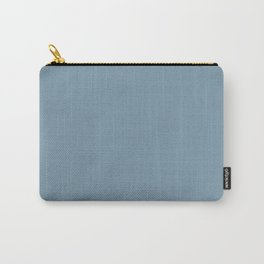 Weldon Blue  solid color Carry-All Pouch