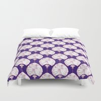lanterns Duvet Covers featuring Lanterns by Bunyip Designs