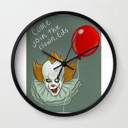 Come Join the Clown, Eds Wall Clock