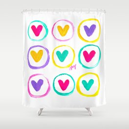 We Are Made of Colours Shower Curtain