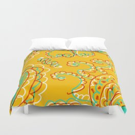 Summer Spice Duvet Cover