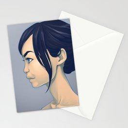 Eurasian profile Stationery Cards