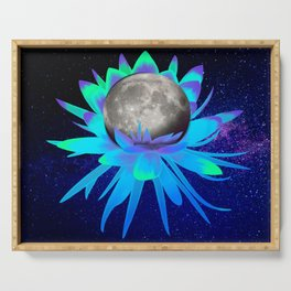 Moon Flower Serving Tray