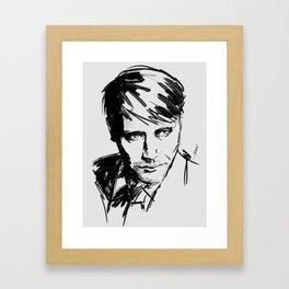 Mads Mikkelsen #2 Framed Art Print