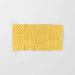 Yellow Decorative Tiles Hand & Bath Towel