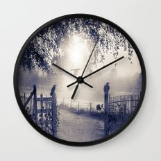 untitled  (colour option) Wall Clock