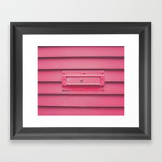 Celebrating LOVE! Framed Art Print