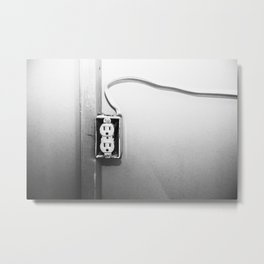 Electrical Outlet 1 Metal Print