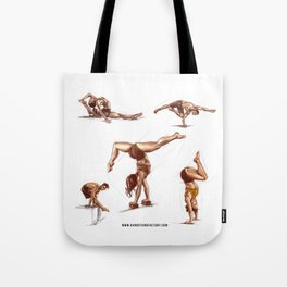 Handstand Factory Sketches 2 Tote Bag