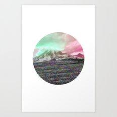 Mount Wisdom [cropped] Art Print