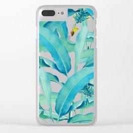 Banana Forest #society6 #decor #buyart Clear iPhone Case