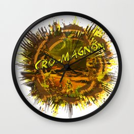 Cro Magnon Wall Clock