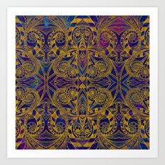 Indian Style G233 Art Print