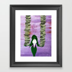 The Lady's Stacked! Framed Art Print