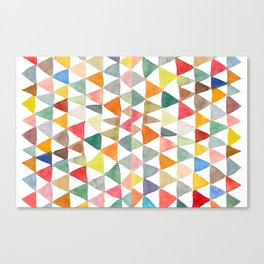 Triangle Tapestry Canvas Print