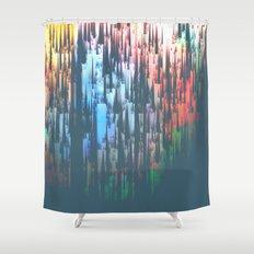 Raining Colors / Autumn 11-10-16 Shower Curtain