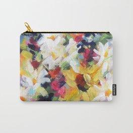 Summer Sunflower Bouquet Carry-All Pouch
