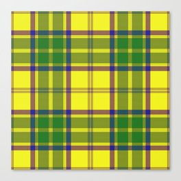 Checkered style Canvas Print