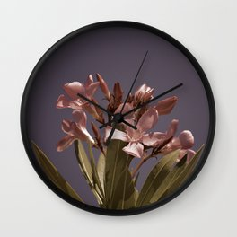 Pretty in Pink Vintage Wall Clock