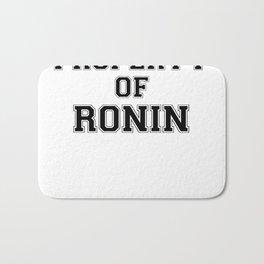 Property of RONIN Bath Mat