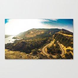 rowena crest landscape in oregon Canvas Print