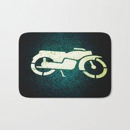 Scooter Parking Bath Mat