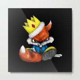 King Conker [Conker's Bad Fur Day Fan Art] Metal Print